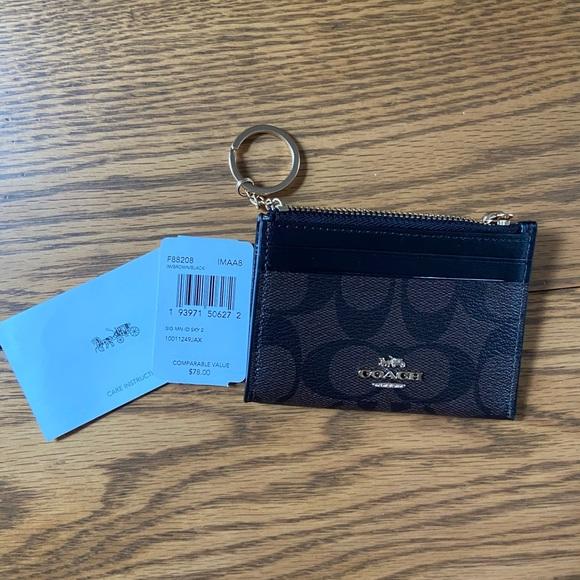 """Coach """"Mini Skinny ID case"""" wallet"""